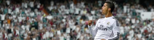 Cristiano Ronaldo recibe los trofeos Pichichi y Alfredo Di Stéfano 2013-14
